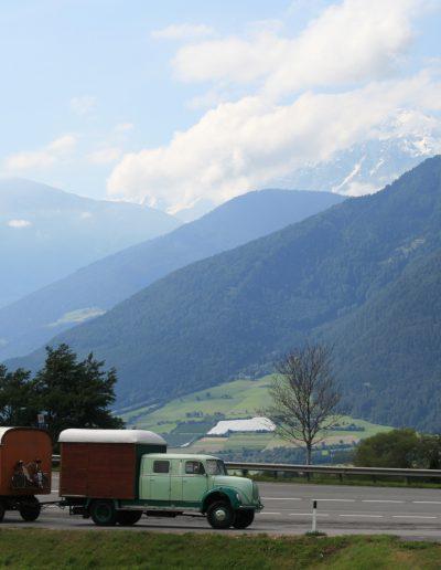 In der Alpen.